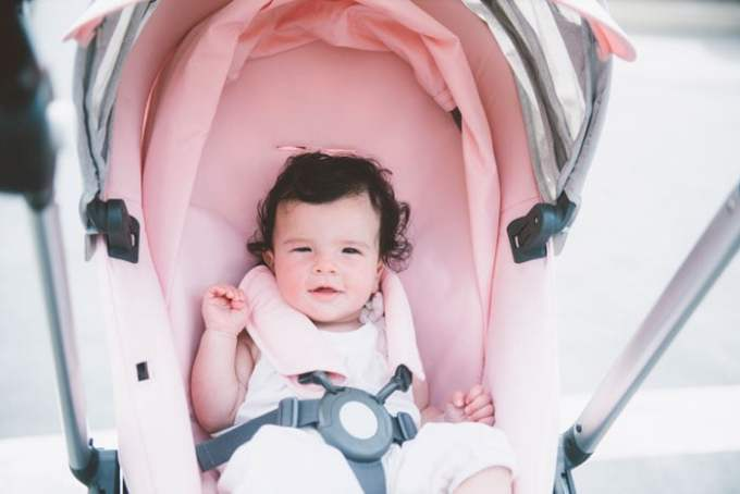 pink stokke scoot
