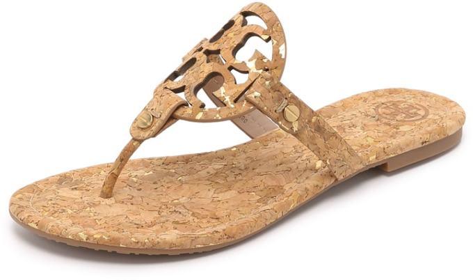 tory burch cork miller sandal - my FAVORITE summer sandals!!