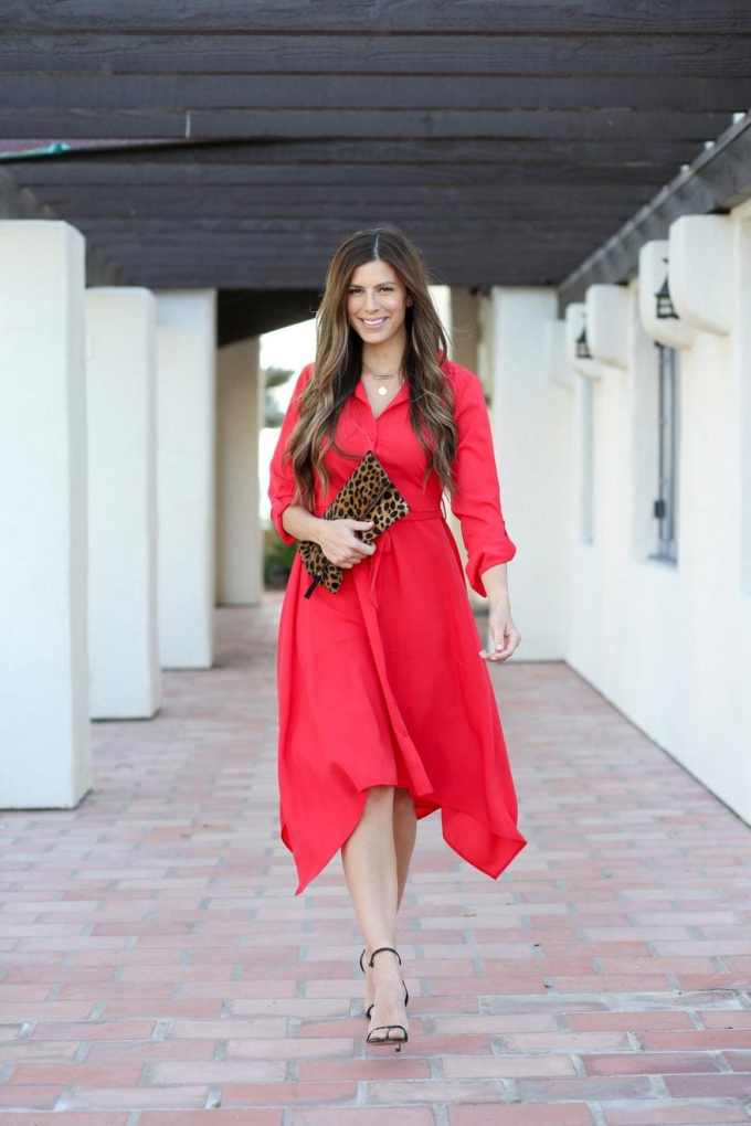 Nordstrom Red Dress