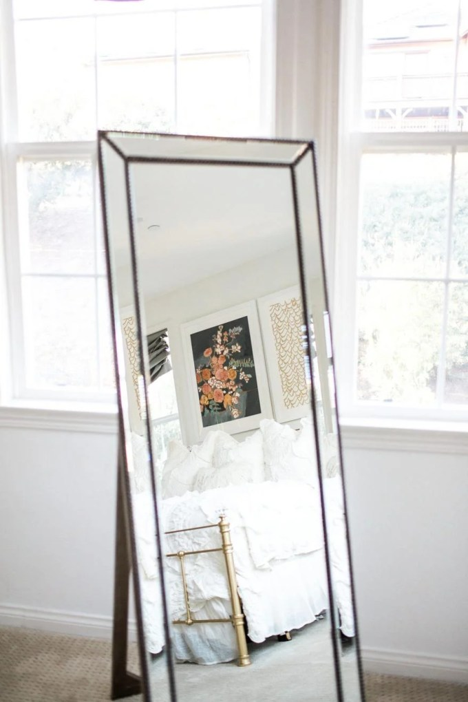 Gold Full Length Mirror