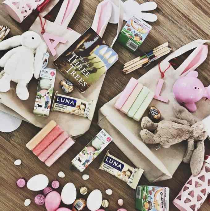 Easter Basket spread