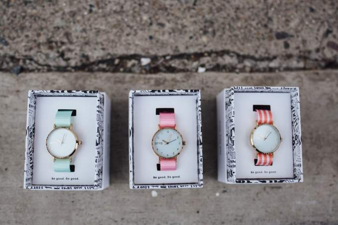 tiny time arvo watches
