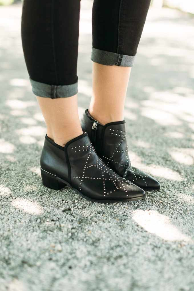 fall statement booties Nordstrom