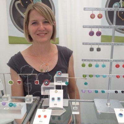 Jeweler Kristin Perkins shares ideas on how to make the best of a slow day at an art event.