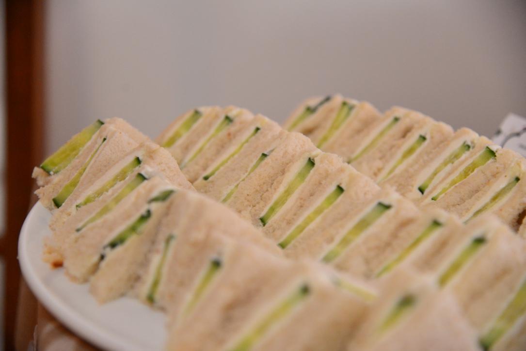 Garden Tea Party Bridal Shower - Cucumber Sandwiches