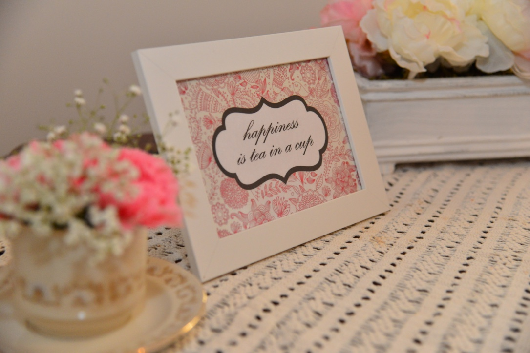 Thanks for Steaping By - A Whimsical Tea Party Bridal Shower