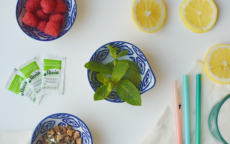 Iced Raspberry Lemon Tea