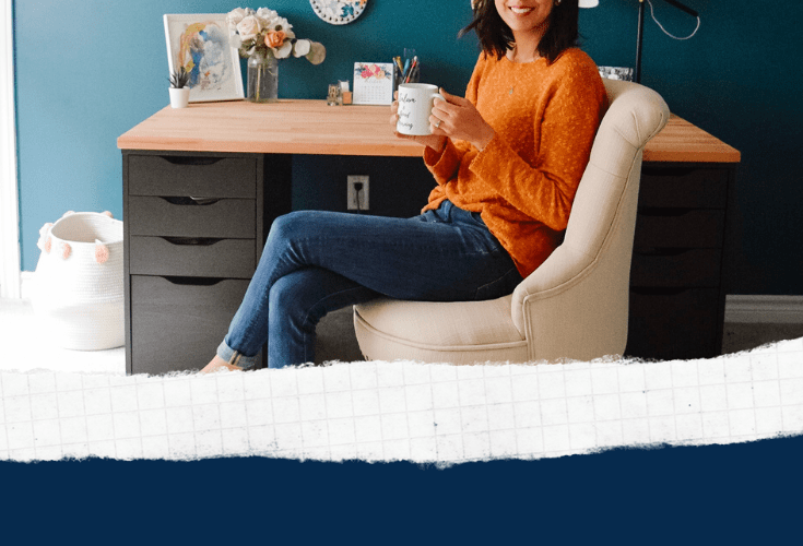 One Room Challenge Week 6 – Office Makeover Reveal