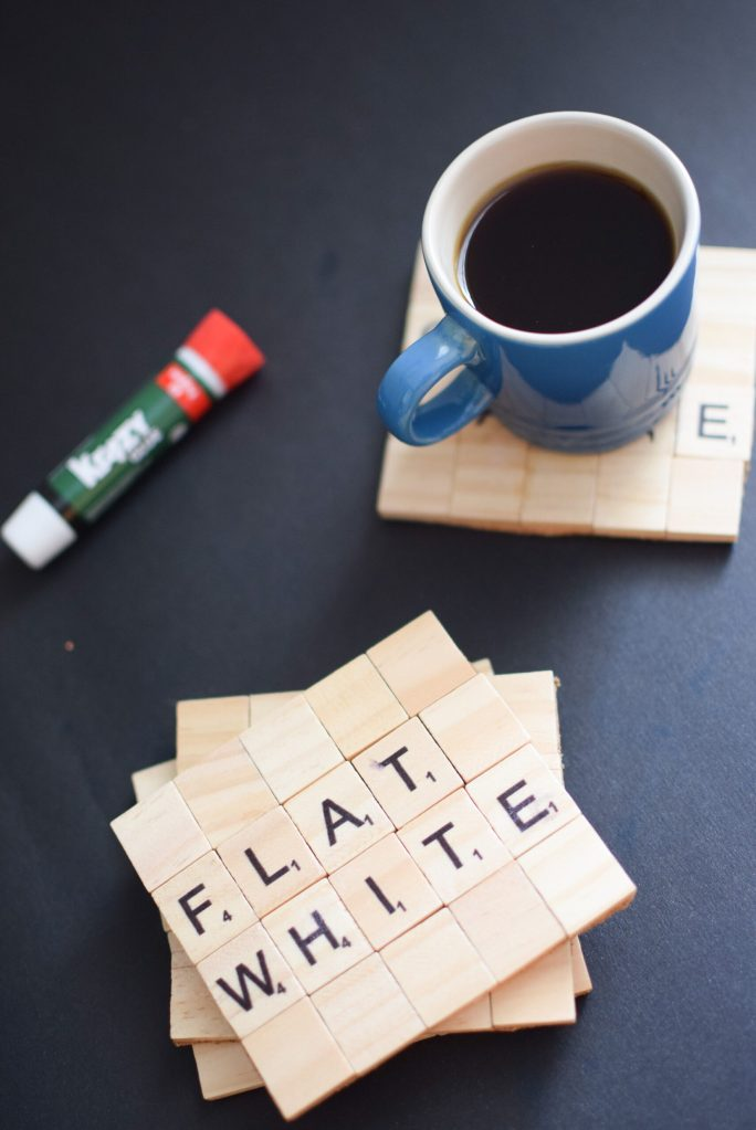 DIY Scrabble Tile Coasters with Krazy Glue_Mint Candy Designs3