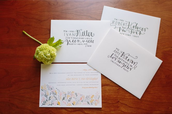 10 Things You Should Know Before Mailing Your Wedding Invitations Martha Stewart Weddings
