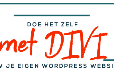 Leer zelf een website te maken met WordPress en Divi