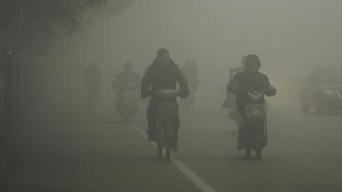 Air Pollution in China.