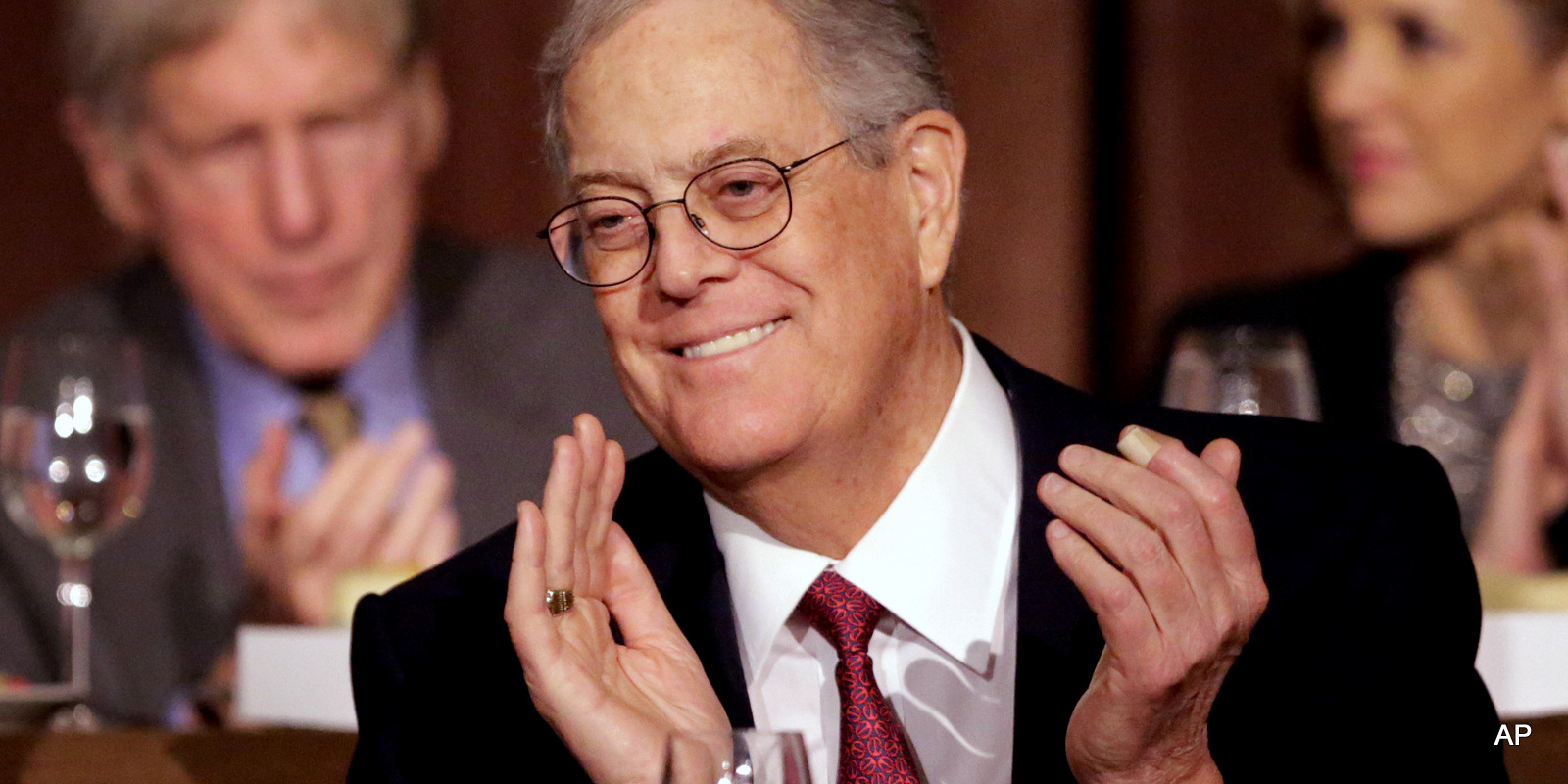 David Koch, Executive Vice President of Koch Industries, Inc., attends The Economic Club of New York
