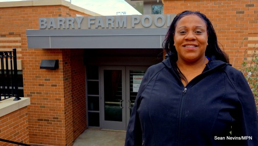 Phyllissa Bilal, resident and co-founder of the Barry Farm Study Circle, has lived in the neighborhood for about 3 years.