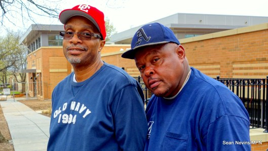 4) Ray (left), 57, and Alex (right), 61, both grew up in Barry Farm, Washington DC.