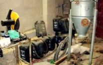 A chemical weapons depot near Baghdad – similar to one captured by ISIS in northern Iraq.