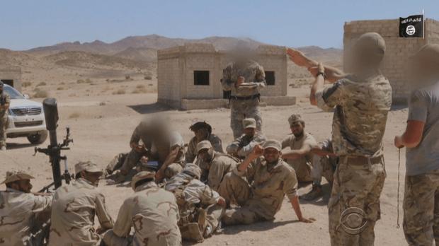 US training Syrian Rebels