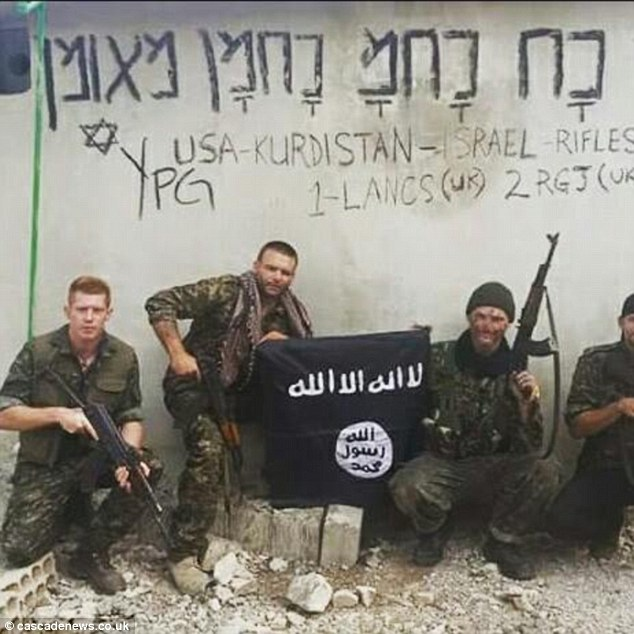Joe Robinson Kurds Syria ISIS
