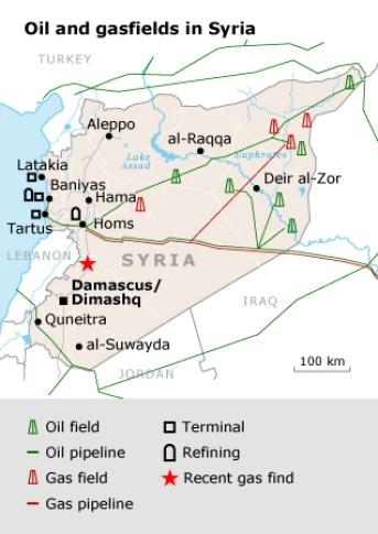 Syria Oil Resources