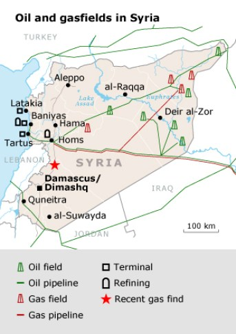 Syria Oil Resources