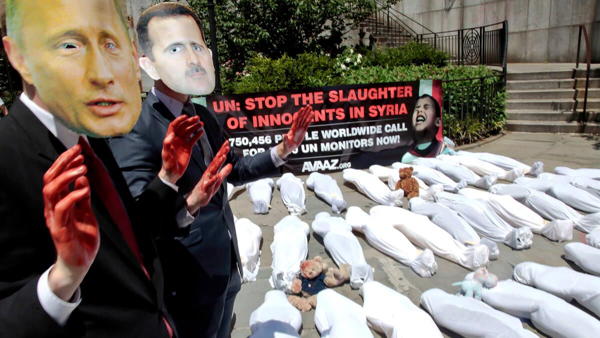 Syria Protest Avaaz