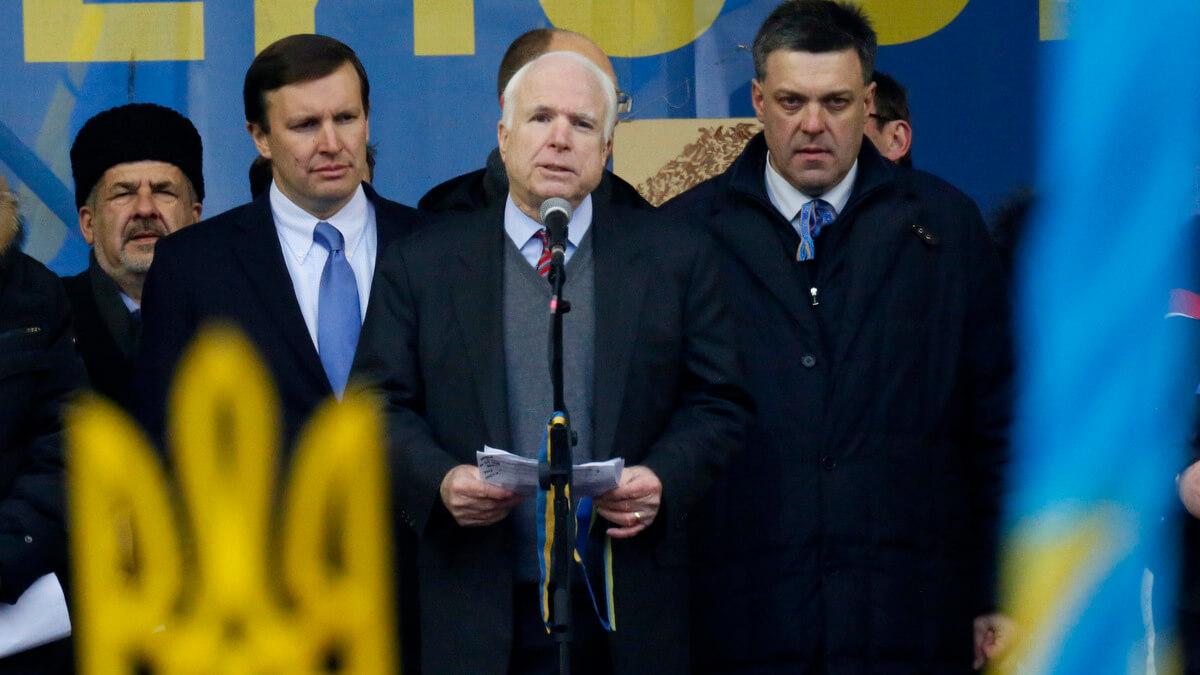 John McCain Ukraine Nazi