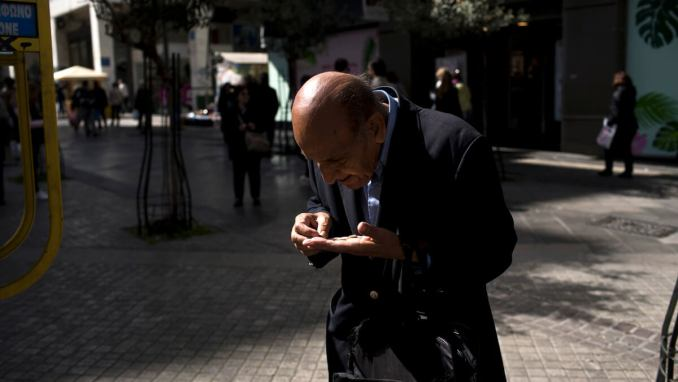 Greece Bailout pensioners