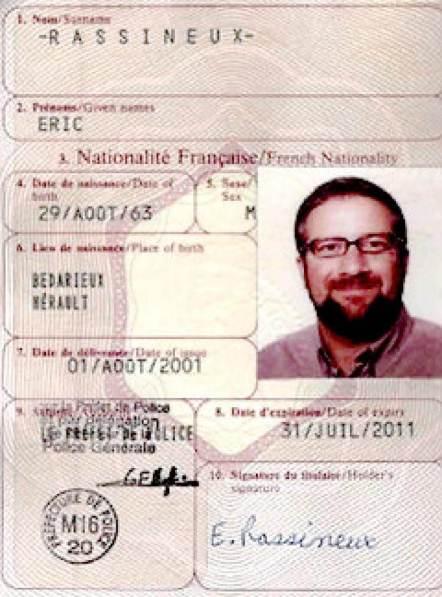 Mossad Passports