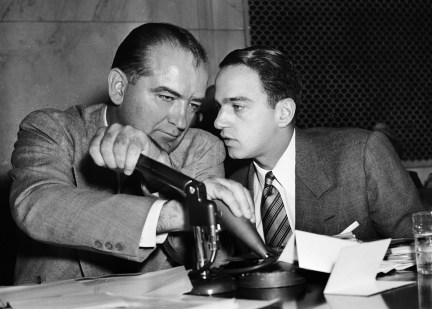 Joseph McCarthy Roy Cohn