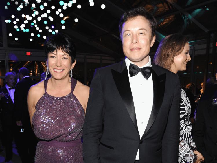 Elon Musk Ghislaine Maxwell