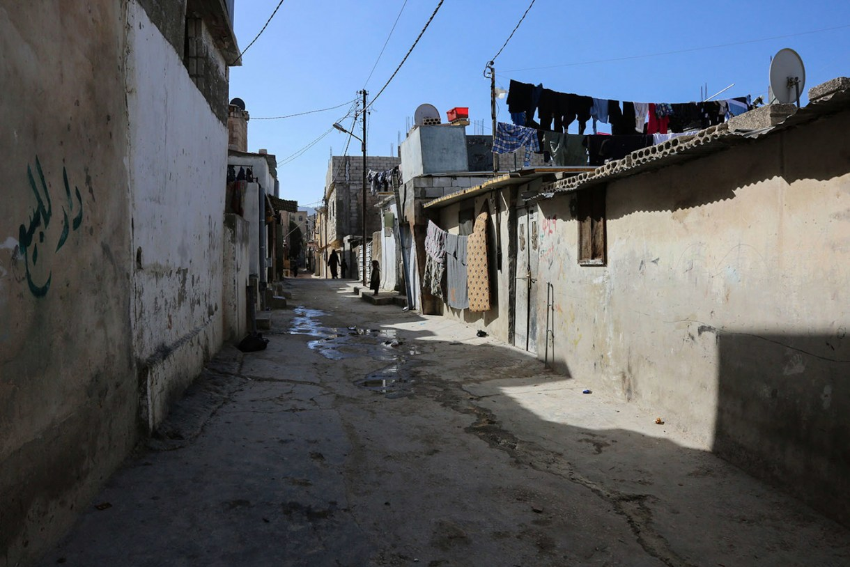 Jerash Gaza refugee camp