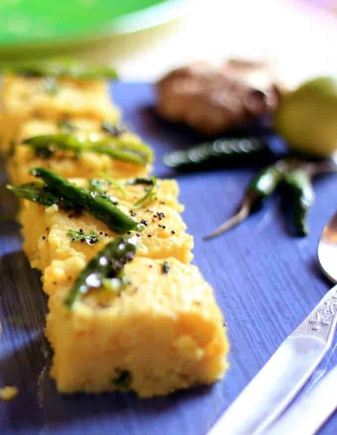 How To Make Instant Khaman Dhokla Recipe-Besan Dhokla-Gujrati Dhokra