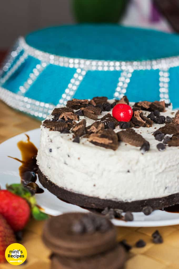Oreo Cheese Cake Without Oven