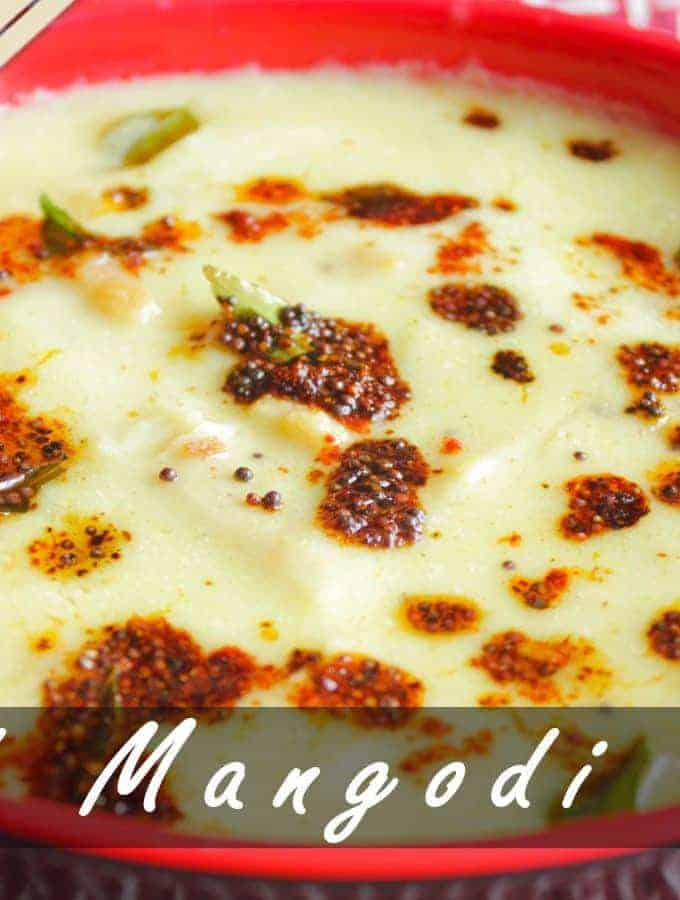 How To Make Papad Mangodi Ki Curry (Kadhi)