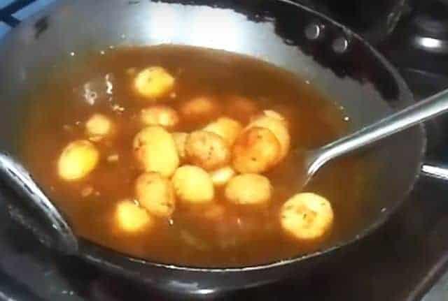 Potato Manchurian
