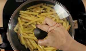 French Fries Sabzi