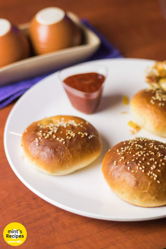 Stuffed Pizza Buns