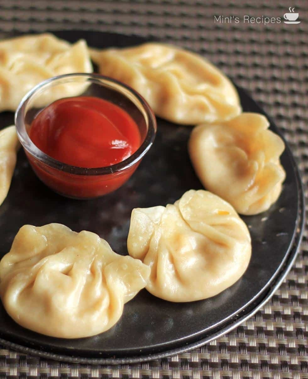 Veg Momos (Cheese Corn)