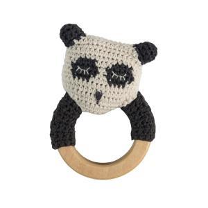 Heklet rangle panda fra Sebra
