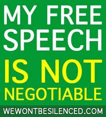my free speech is not negotiable