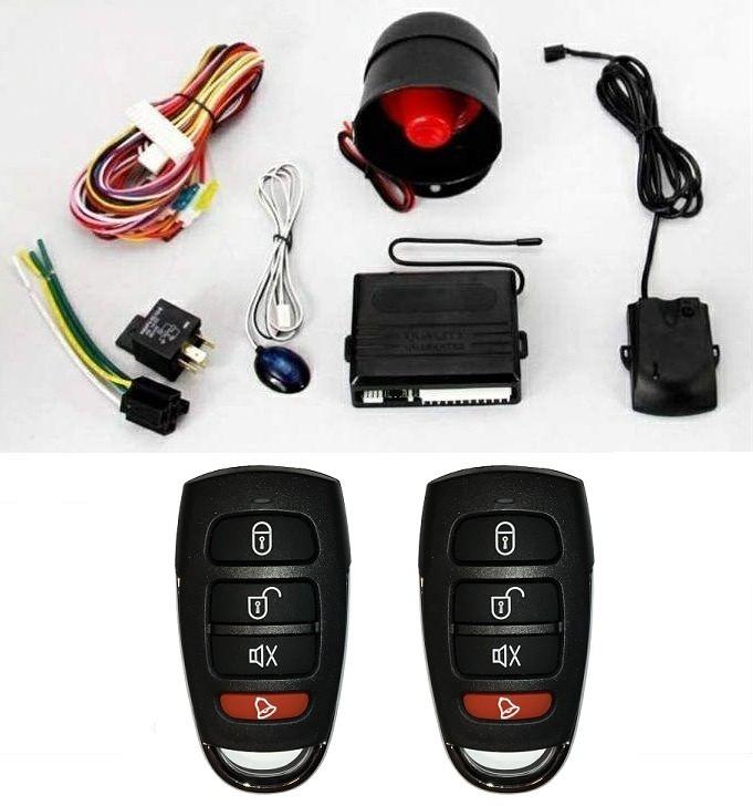 Alarma auto k606 cu 2 telecomenzi Tuning-Shop