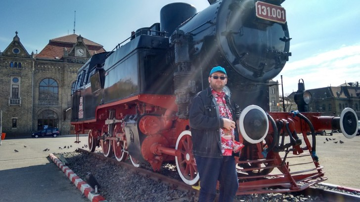 Emil Calinescu gara Arad