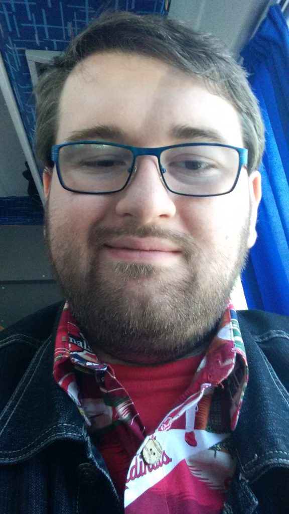 Selfie din microbuz