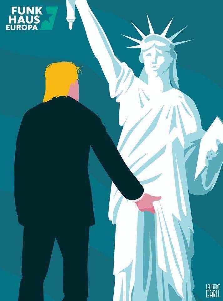 trump-statuia-libertatii