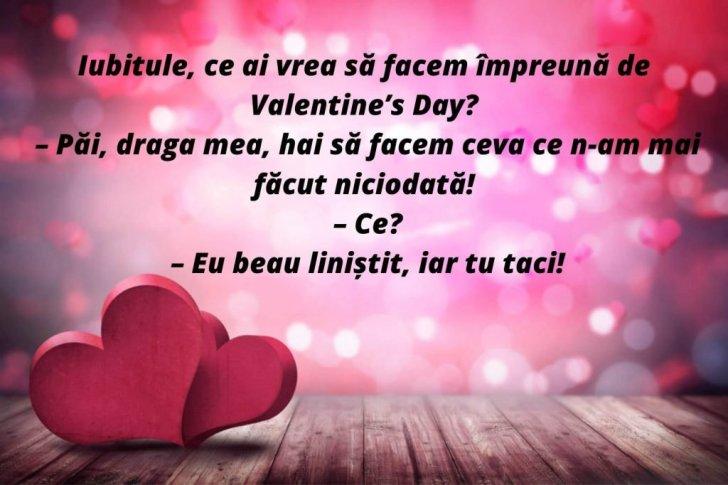 glume de Valentine's Day 14 februarie