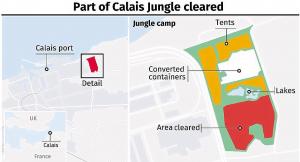 Calais jungle plan