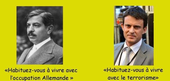 Laval 1940 Valls 2016 L'Histoire bafouille