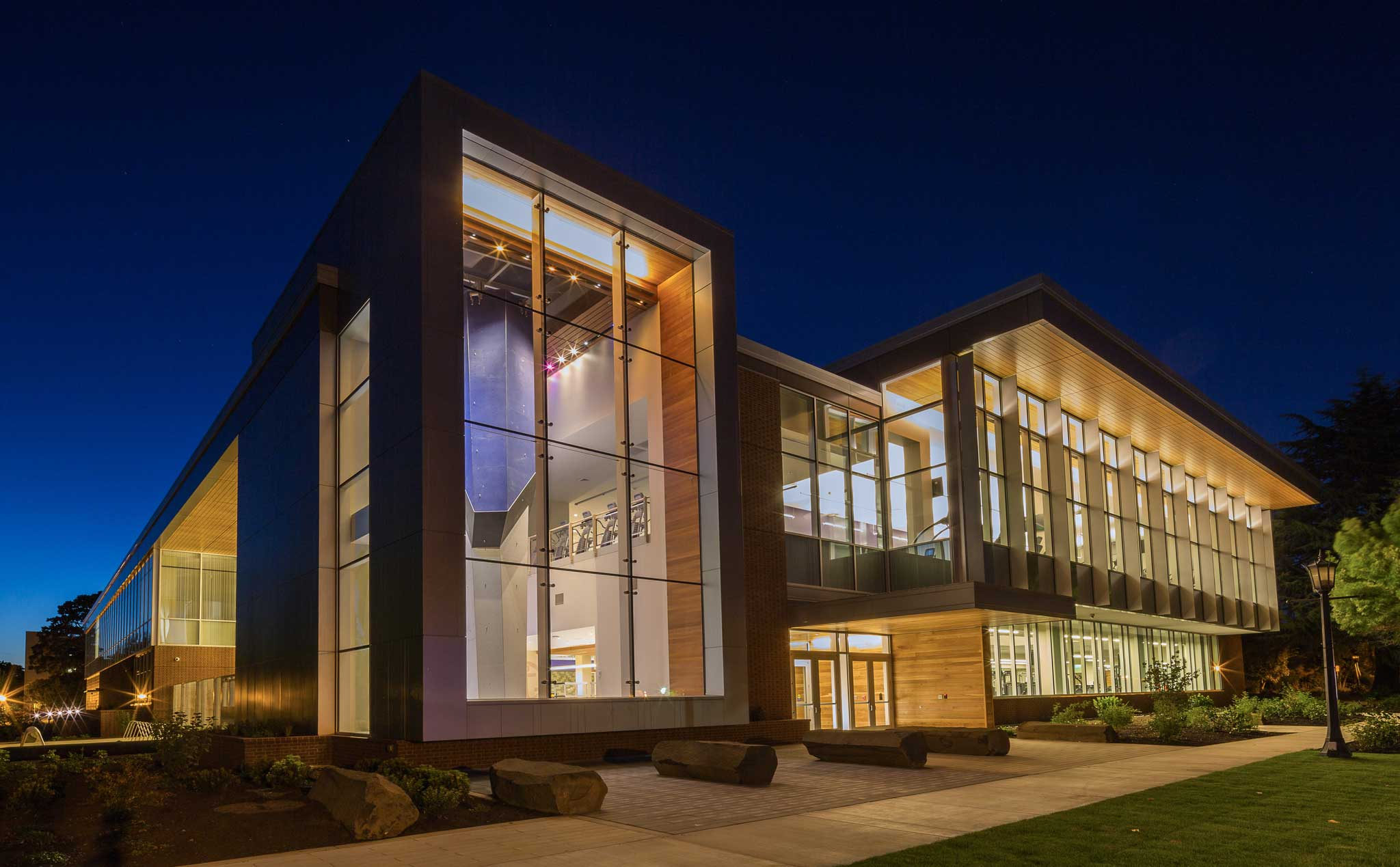 Beauchamp Athletic Facility Architectural Lighting Design