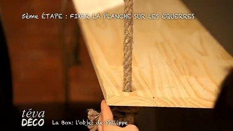 realiser un bar suspendu au plafond
