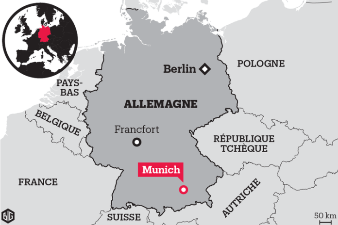 attaque munich carte